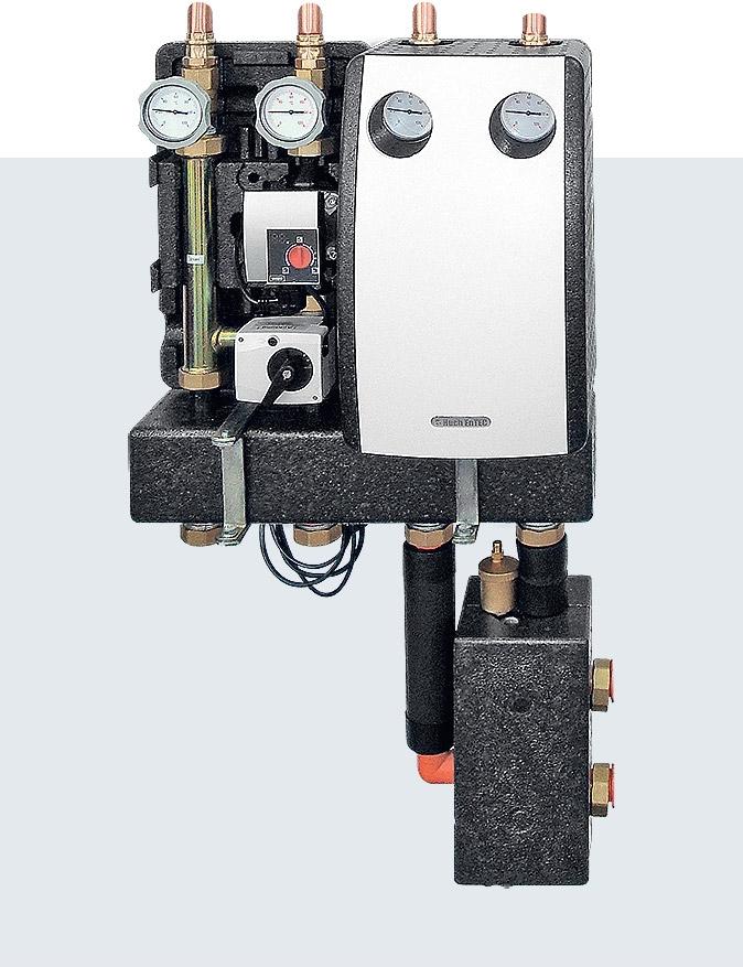 Насосные модули(группы) Huch для отопления Германия
