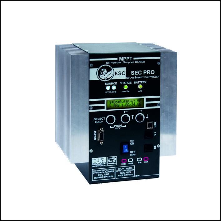 Контроллеры заряда АКБ от солнечных панелей