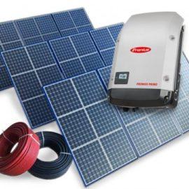 СЭС солнечные сетевые электростанции трехфазные Fronius оборудование