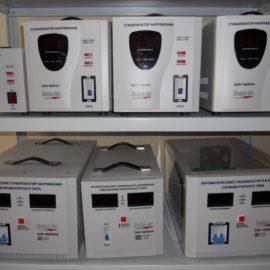 Стабилизаторы напряжения 1 и 3 фазные