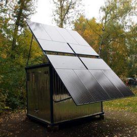 Мобильные солнечные электростанции